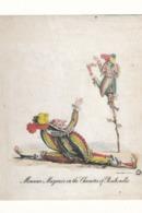 CPM 10 X 15 . Monsieur Mazurier In The Character Of PUNCHINELLO . Mime Mazurier (1798- 1828) Dans Rôle De POLICHINELLE - Espectáculo
