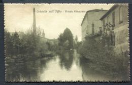 CV2915 CANNETO SULL'OGLIO (Mantova MN) Veduta Pittoresca, FP, Viaggiata 1916 Per Bologna, Ottime Condizioni - Mantova