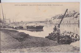 Pont-Sainte-Maxence - Quais De La Pêcherie Et Arsène Berdin - Inondations 1910 - Grue Marine - Pont Sainte Maxence