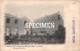 Pensionnat De La Bienheureuse Marguerite- Marie - Vue Prise Du Jardin -  Cortemarck - Kortemark - Kortemark