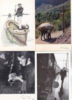 GROS LOT DE 1000 CARTES 2                  De Tout Geographique N Et B Animaux Paysages Architecture - Postkaarten