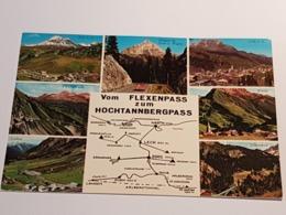 Flexenpass, Hochtannbergpass (nicht Gelaufen ; Ca.1980); H37 - Kleinwalsertal