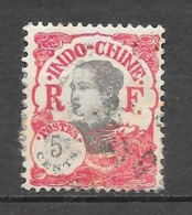 1922 - 23 : Centre Et Valeur En Rouge : N°104 Chez YT. (Voir Commentaires) - Indochine (1889-1945)