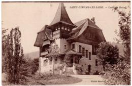 CPA - ST GERVAIS LES BAINS - CASTEL DES ROCHES - Saint-Gervais-les-Bains