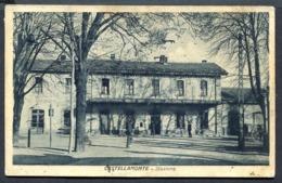 CV2927 CASTELLAMONTE (Torino TO) Stazione, FP, Viaggiata 1937 Per S.Giovanni Canavese, Ottime Condizioni - Italy