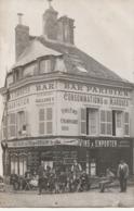 EPERNAY - Carte Photo  Bar Parisien ( Angle De La Rue St Thibault Et Rue Henri IV ) - Epernay