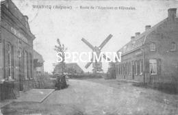 Route De L'American Et Klijtmolen - Wervicq - Wervik - Wervik
