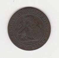 2 CENTIMES 1870 GOUVERNEMENT PROVISOIRE - [1] …-1931: Königreich