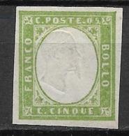 Sardinia 1855, No Gum - Sardinien