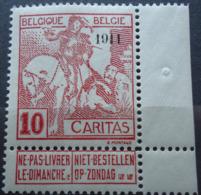 N° 98 Mnh** - 1910-1911 Caritas