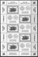 Bm Austria 2001 MiNr 2345 Blackprint (Schwarzdruck) Kleinbogen Sheet MNH | Stamp Day - 1945-.... 2nd Republic