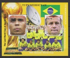 Soccer  World Cup 1998 - TURKMENISTAN - S/S MNH - 1998 – France