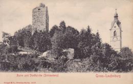 Laufenburg * Burgruine, Stadtkirche, Schlossberg, Stengel * Schweiz * AK1607 - AG Argovia