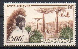 Madagascar Avion N° 73 Neuf ** (gomme Impeccable) - Cote (avec Plus-value De 20% Pour Neuf **) :  45,60€ - Luftpost