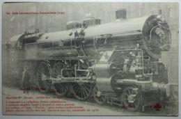 LOCOMOTIVES FRANCAISES ETAT Machine 231-001 - Trains