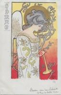 "Rare ! CPA 1900 KieszKow - Les Anges Musiciens - ""HYMNE"" - Old Postcard KieszKow Musicians Angels - 2 - Illustrators & Photographers"