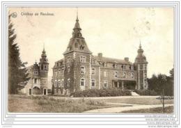 RENDEUX ..-- Le Château . 1916 Vers BERTRIX ( Mr Léon JOSEPH ) . Cachets Allemands LUTTICH . Voir Verso . - Rendeux