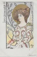 "Rare ! CPA 1900 KieszKow - Les Anges Musiciens - ""PIANO"" (mot Inconnu) - Old Postcard KieszKow Musicians Angels - 3 - Illustrators & Photographers"