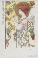 "Rare ! CPA 1900 KieszKow - Les Anges Musiciens - ""FLUTE"" (mot Inconnu) - Old Postcard KieszKow Musicians Angels - 4 - Illustrators & Photographers"