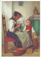 Albert Anker - Grossmutter Und Enkelin           Ca. 1950 - Illustrateurs & Photographes