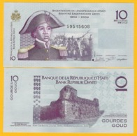 Haiti 10 Gourdes P-272h 2016 UNC Banknote - Haïti