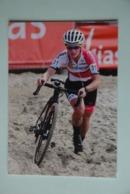 CYCLISME: CYCLISTE : ALICIA FRANK - Ciclismo