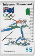 3 Cartes D' Australie Australia Theme Sports Hockey Course Natation Swiming - Sport