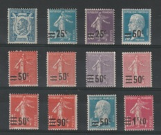 FRANCE - Lot Neuf * - MH - Cote: 19,40€ - Unused Stamps