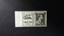 Belgique - Publicité : Léopold III . Numéro PU115 état Neuf - Publicités
