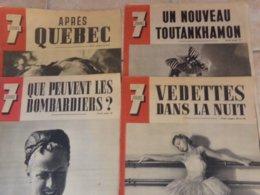 Lot 4 Magazine 7 Jours 1943 1944 - Riviste & Giornali