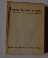 1 FESTIVAL BRASILEIRO DE CINEMA  Museu De Arte De Sao Palo 1952 - Boeken, Tijdschriften, Stripverhalen