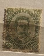 ITALIA REGNO1891 UMBERTO I CENT 45  USATO - 1878-00 Umberto I