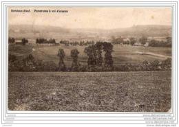 RENDEUX  ..--  Panorama à Vol D'oiseau . 1911 Vers BRUXELLES ( Mr VAN CROMBRUGGE ) . Voir Verso . - Rendeux