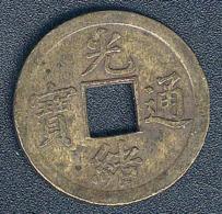 China - Kwangtung, 1 Cash, Kuang Hsu, KM 189 - China