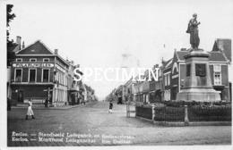 Fotokaart Standbeeld Ledeganck En Boelaerstraat - Eecloo - Eeklo - Eeklo