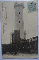 CPA BOULOGNE-sur-MER-- LE PHARE DE LA JETEE DEMOLI PAR LA TEMPETE DU 10-11 SEPTEMBRE 1903. - Boulogne Sur Mer