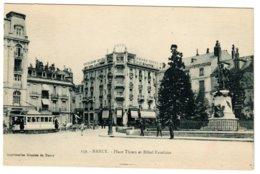 NANCY - Place Thiers Et Hôtel Excelsior - Nancy