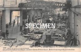 Les Grandes Industries Belges - Ateliers Carels Frères - Halle De Montage Des Locomotives - Gand - Gent - Gent