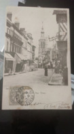 CPA - BERNAY Rue Thiers - Beaumont-le-Roger