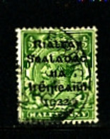 IRELAND/EIRE - 1922  1/2d OVERPRINTED DOLLARD  SG 1 FINE USED - 1922 Governo Provvisorio