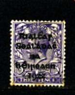 IRELAND/EIRE - 1922  3d OVERPRINTED DOLLARD  SG 5 FINE USED - 1922 Governo Provvisorio
