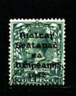 IRELAND/EIRE - 1922  4d OVERPRINTED DOLLARD  SG 6 FINE USED - 1922 Governo Provvisorio