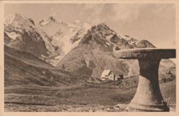 Carte Postale Ancienne Des Hautes-Alpes - Col Du Lautaret - La Table D'orientation, Le Jardin Et Le Musée Alpin.... - Frankreich