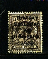 IRELAND/EIRE - 1922  9d OVERPRINTED DOLLARD  SG 8 FINE USED - 1922 Governo Provvisorio