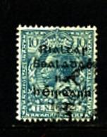 IRELAND/EIRE - 1922  10d OVERPRINTED DOLLARD  SG 9 FINE USED - 1922 Governo Provvisorio