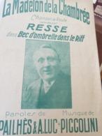 CHANSON PATRIOTIQUE 14 -18 / LA MADELON DE LA CHAMBREE - Partitions Musicales Anciennes