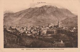 Carte Postale Ancienne Des Hautes-Alpes - Embrun - Vue Générale - Au Fond, Montagne D'Orel - Embrun