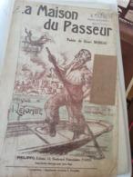 CHANSON PATRIOTIQUE 14 -18 / LA MAISON DU PASSEUR - Partitions Musicales Anciennes