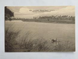C. P. A. : Benin, Haut Dahomey : Passage D'une Rivière à Cheval, En 1916 - Benin