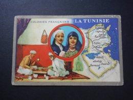 Carte Colonies Françaises - Tunisie - Produits Du Lion Noir - Geschichte